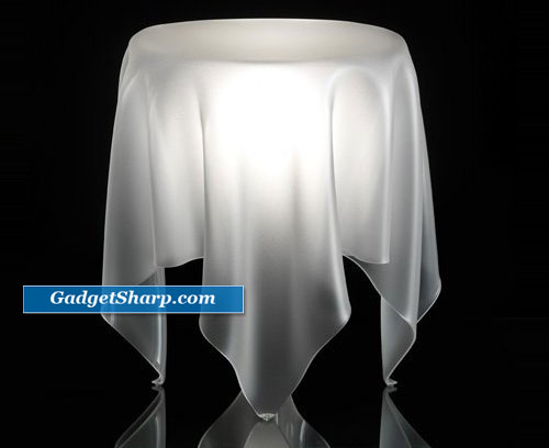 Essey Illusion Ice/White Side Table