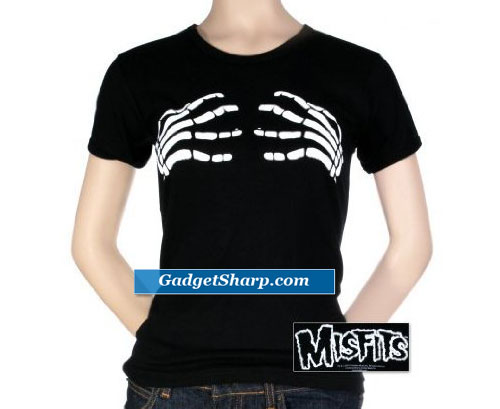 Women's: The Misfits - Skeleton Hands T-Shirt