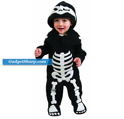 Baby Skeleton Infant/Toddler Costume