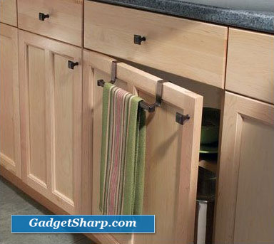 Over Cabinet Towel Bar