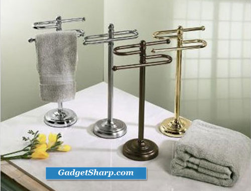 S-Shaped Counter Towel Holder Finish: Chrome