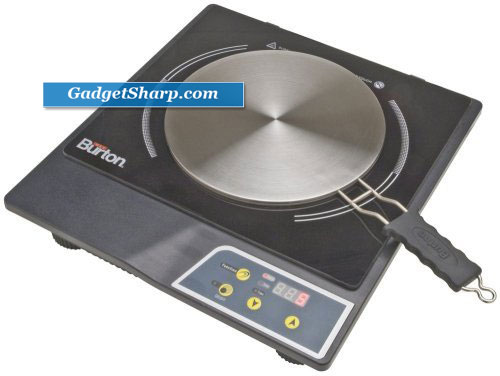 Portable Induction Cooktop Stove and Interface Disk Combination Set