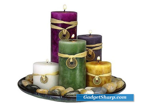 Feng Shui Candle Gift Set