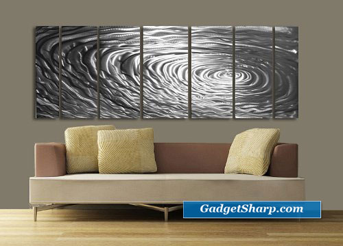 Ripple Effect Modern Feng Shui Home Decor