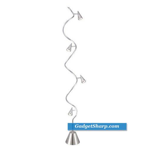 Adesso Venus Spiral Floor Lamp