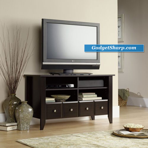 Jamocha Espresso Entertainment Center - Flat Panel TV Stand