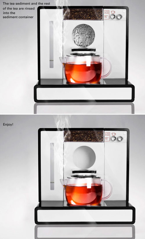 Tesera Teemachine: Super-Sleek Automated Tea Brewers