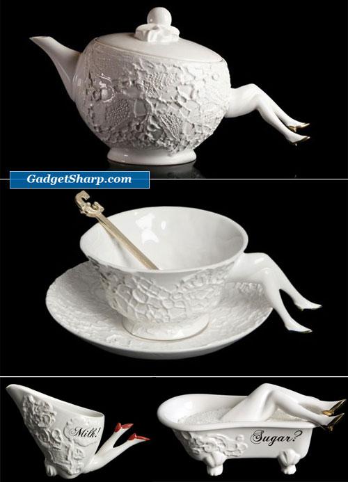 Blaue Blume Tea Service