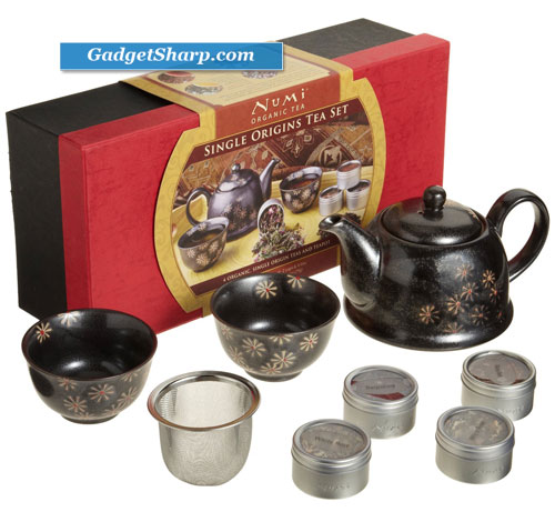Numi Organic Tea, Single Origins Tea Set