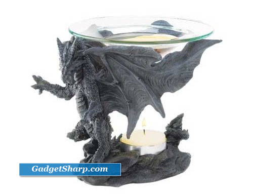 Midnight Dragon Oil Warmer