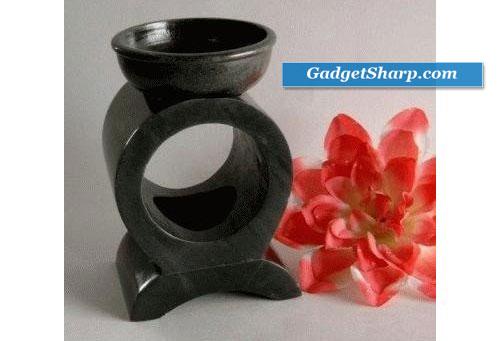 Soapstone Circle Oil or Tart Warmer