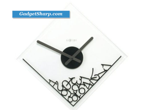 Nextime Wall Clock, Dropped Numerals