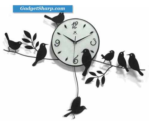 Morning Birds Wall Clock
