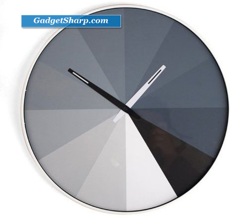 Kikkerland CL23 Ultra Flat Wall Clock