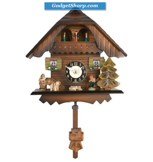 River City Clocks Quartz Cuckoo Clock