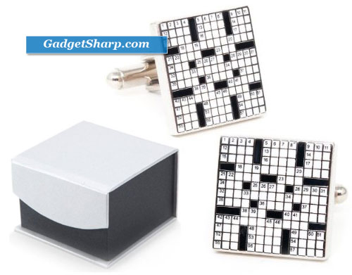 Crossword Puzzle Game Cufflinks Cuff
