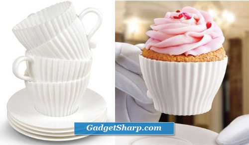 Fred & Friends Teacup Cakes Cupcake Mold