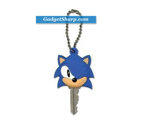 Sonic the Hedgehog Classic Sonic Key Cap Key Chain