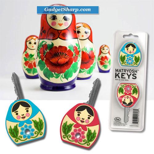 MATRYOSHKEYS - doll up your keys