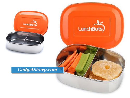LunchBots Duo Stainless Steel Lunch Box