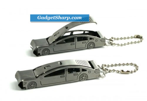 Deluxe Auto Car Nail Clipper