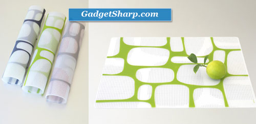 Twist Grid Placemats