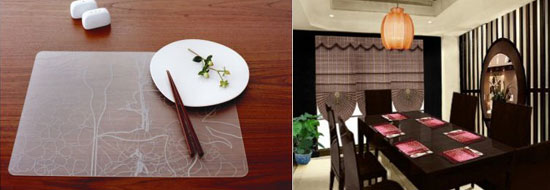 Beautiful and Stylish Placemats for you Dinning Table