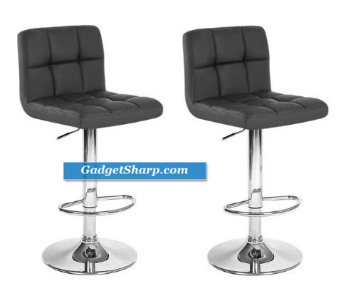 Chic Modern Adjustable Bar Stools