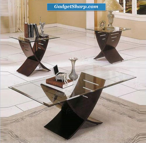 Steve Silver Cafe 3-Pack Espresso Coffee Table and End Tables Set