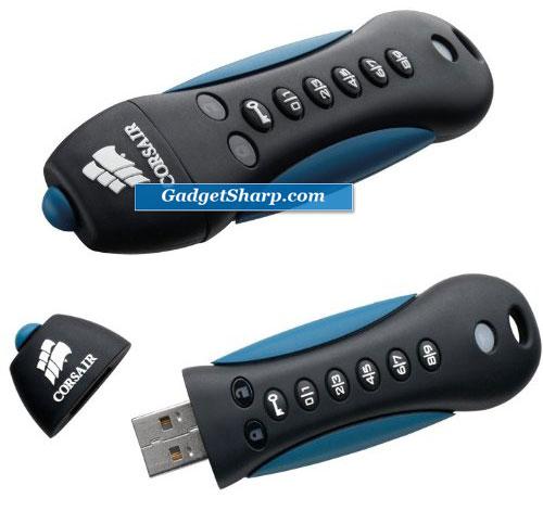 Corsair 16 GB Padlock 2 USB 2.0 Flash Drive
