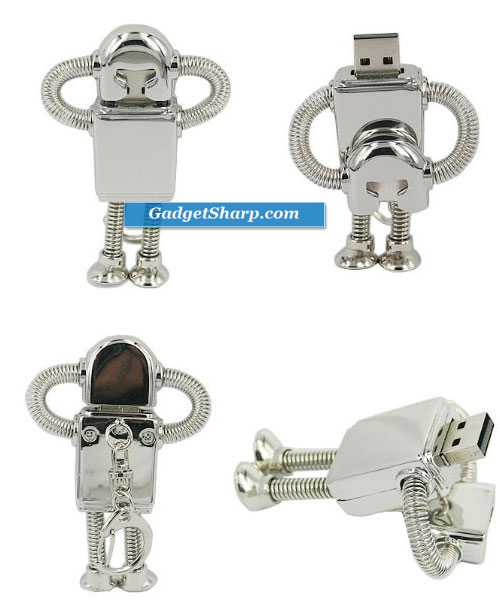 4GB Robot Flash Drive