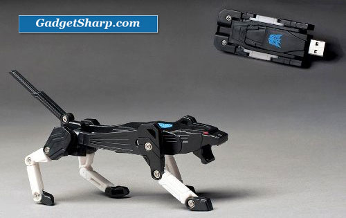 Transformer USB Flash Memory Drive 4GB