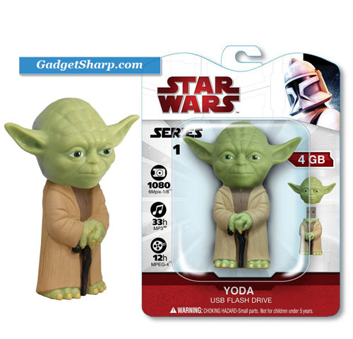 Tymemachines Powered by Funko 4Gb Yoda Usb Drive