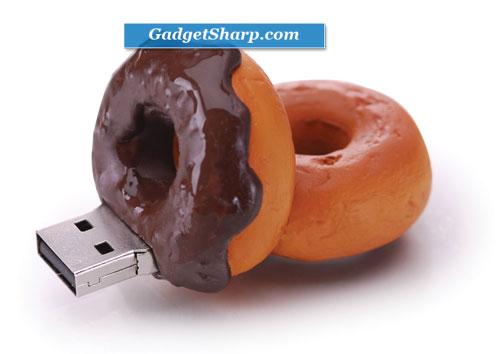 2GB Chocolate Donut USB Drive