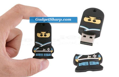 4GB Ninja USB Flash Drive