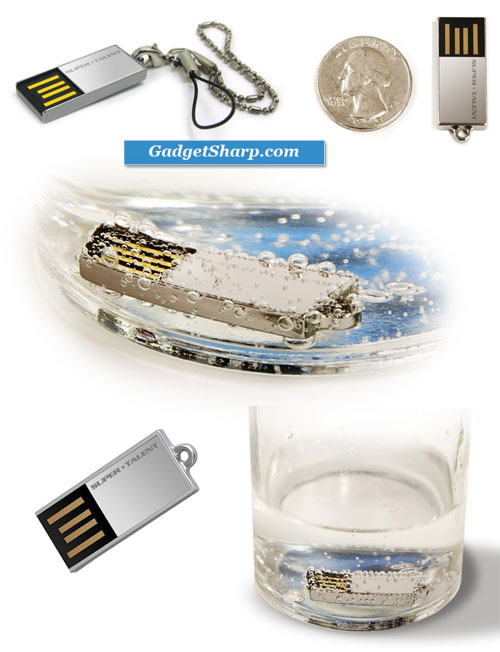Super Talent Pico-C 8 GB USB 2.0 Flash Drive