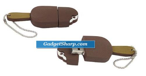 Chocolate Ice Cream Bar 4GB Flash Drive