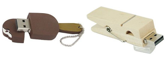 Unusual USB Flash Drives – all available at amazon.com