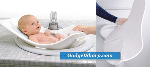 The Soft, Foldable Baby Bath Tub