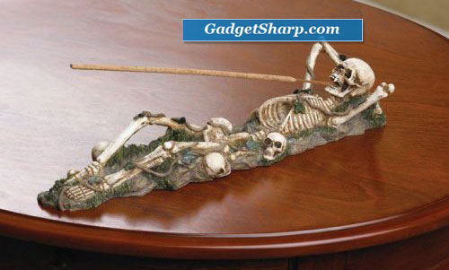 Skeleton Incense Burner Holder