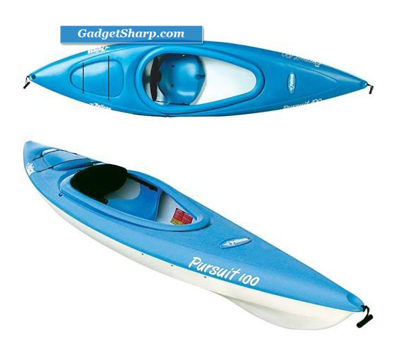 Pelican Pursuit? 100 Deluxe Sit - In Kayak