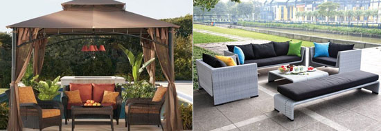 Modern and Contemporary Patio Furniture Sets
