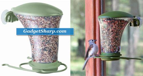 Dine Around Window Bird Feeder