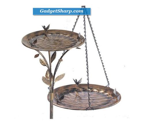 Avant Garden Hanging-Standing Birdbath