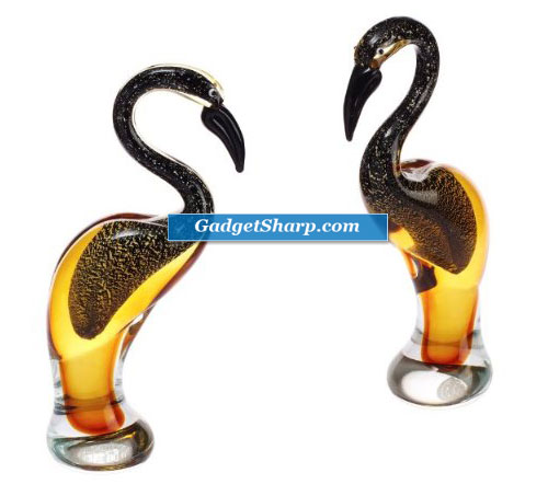 Pelican Art Glass Figure