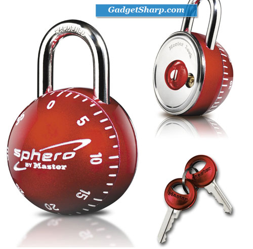 Sphero Combination Lock with Key Access