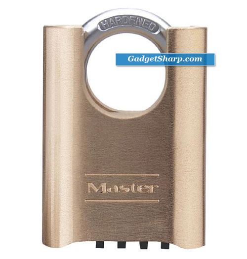 Shrouded Set-Your-Own Combination Padlock