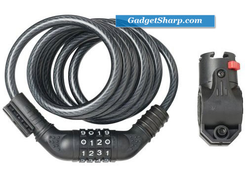 Avenir Coil Combo Cable Locks