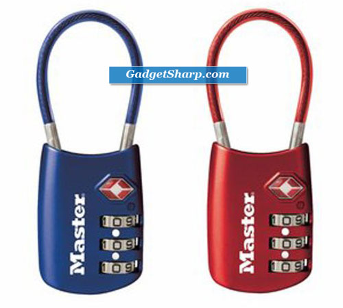 TSA Accepted Cable Luggage Lock