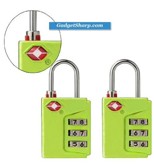 Smartraveler TSA Approved 3 Dial Combination Luggage lock
